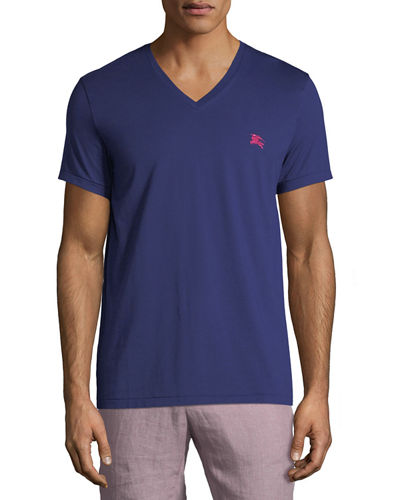 Jadford V-Neck Cotton T-Shirt