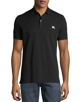 Kenforth Double-Stitch Trim Polo Shirt