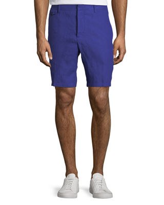 Burberry Soho Linen Trouser Shorts