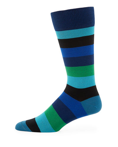 Buxton Striped Socks