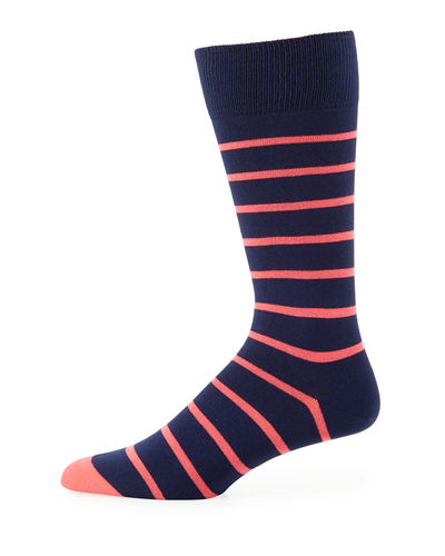Neon Striped Socks