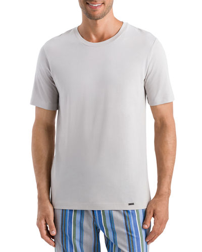 Hanro Living Short Sleeve Crewneck