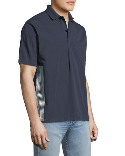 Men's Back-Graphic Polo Shirt