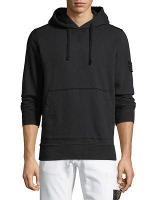 Stone Island Cotton Fleece Pullover Hoodie