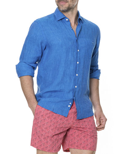 Men's Harris Bay Linen Sport Shirt