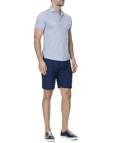 Men's Bells Junction Heathered Polo Shirt