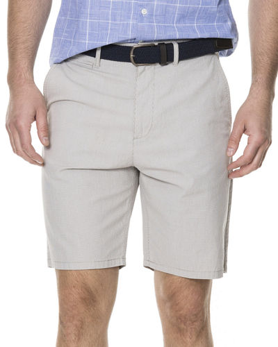 Men's Flaxton Stretch-Cotton Twill Shorts