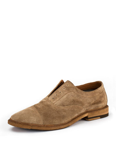 Paul Suede Balmoral Oxford Shoe