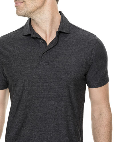 Taylor's Creek Heathered Polo Shirt