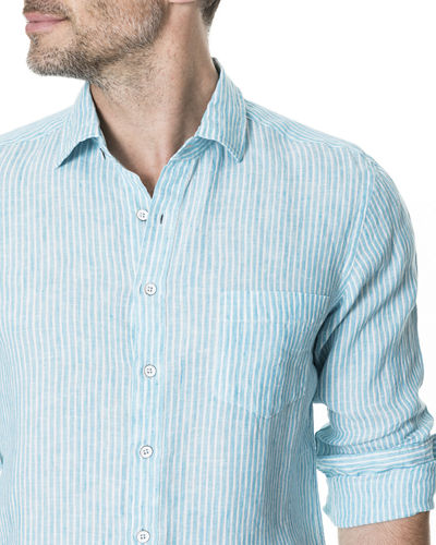 Men's Warwick Junction Striped Sport Shirt