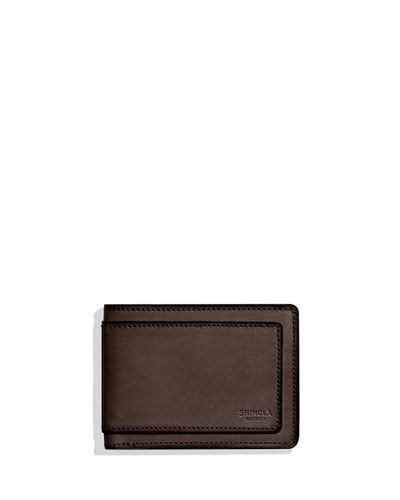 Men's Layered Slim Bifold Leather 2.0 Wallet