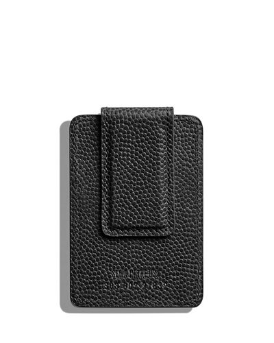 Men's Latigo Card Case with Magnetic Money Clip