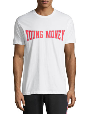 YOUNG MONEY LOGO GRAPHIC T-SHIRT