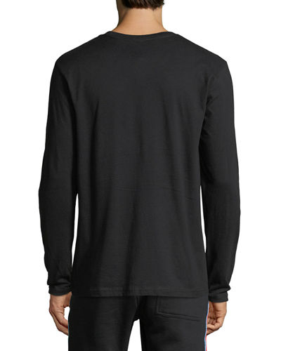 Long-Sleeve Logo Graphic T-Shirt