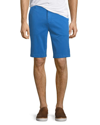 7 FOR ALL MANKIND Men'S Stretch Chino Shorts in Cobalt