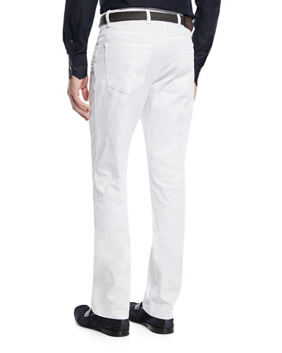 Men's 5-Pocket Stretch-Canvas Pants