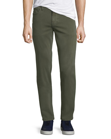 Joe's Jeans Men's Brixton Slim-Straight Sateen Twill Pants