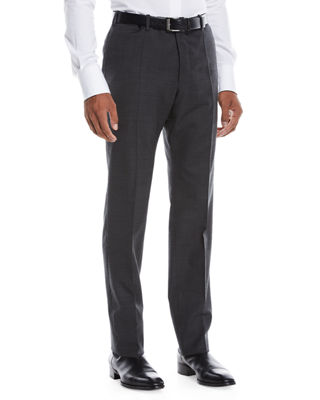 Incotex Men's Benson Wool-Stretch Dress Pants