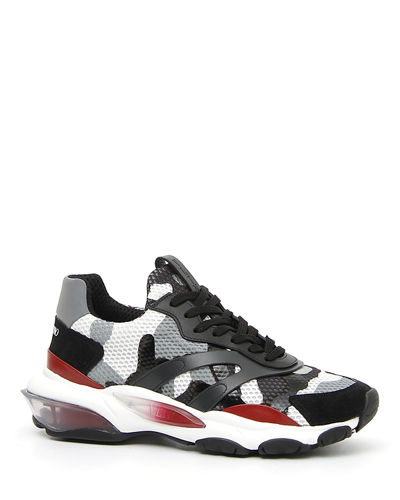 Men's Bounce Camo Leather Sneaker