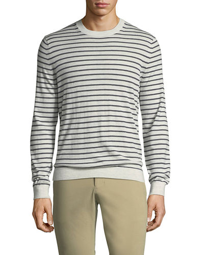 Wool Imported Striped Sweater | Neiman Marcus