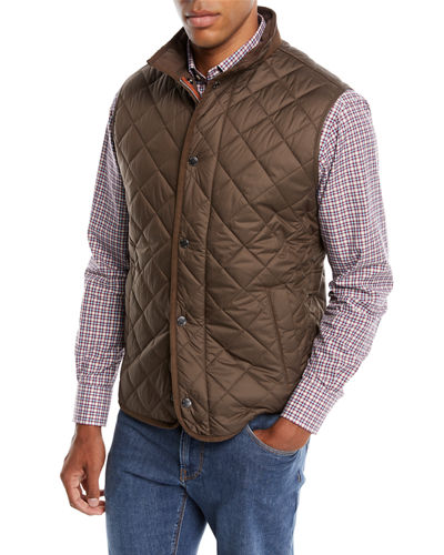 Men's Essex Snap-Front Quilted Vest