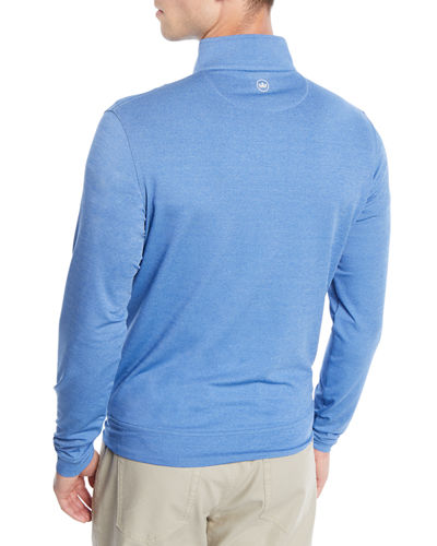 Men's Perth Quarter-Zip Melange Sweatshirt