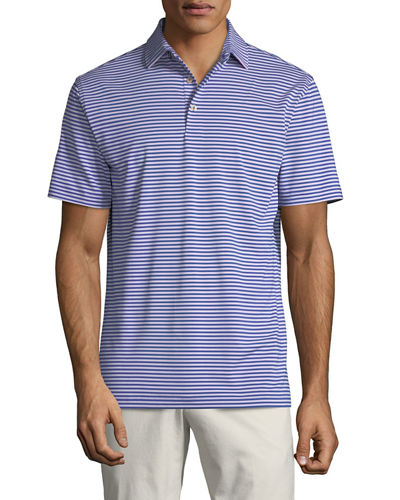 Men's Competition Stripe Polo Shirt