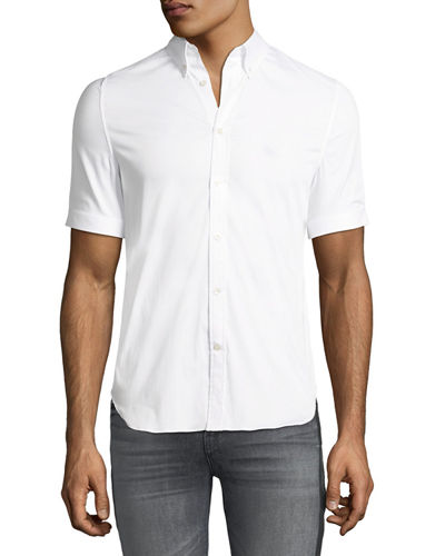 Men's Short-Sleeve Sport Shirt