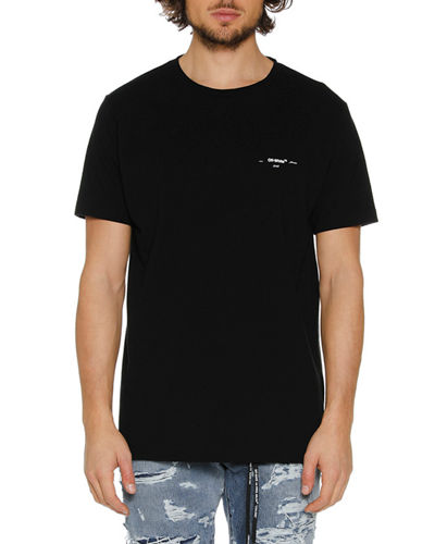Men's 3D Line Slim T-Shirt