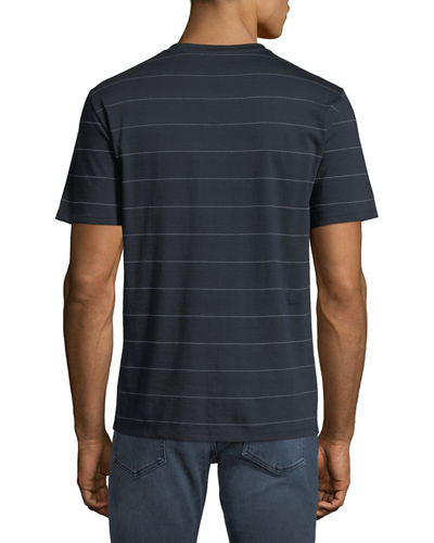 Men's Dash Striped Clean T-Shirt