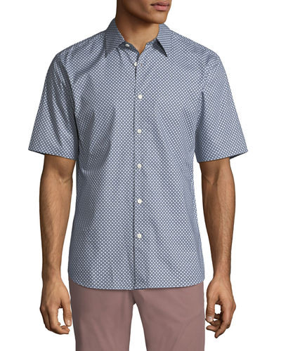 Men's Halldale Menlo Short-Sleeve Sport Shirt