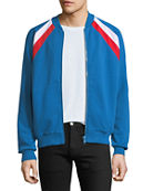 Givenchy Felpa Colorblock Light Bomber Jacket and Matching