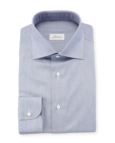 Men's Chambray Dress Shirt