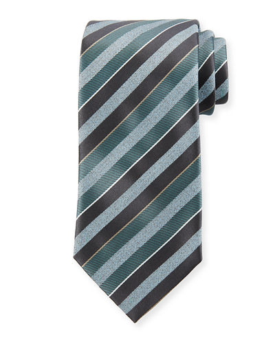 Striped 3 Silk Tie