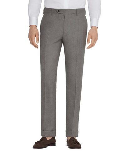 Men's Parker Stretch-Flannel Trouser Pants