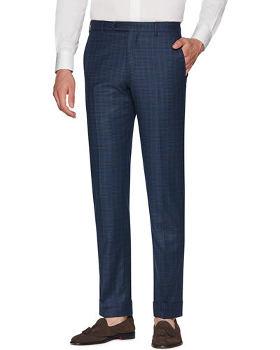 Men's Parker Flannel District Check Wool Pants