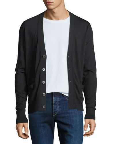 b208b99c96602 Quick Look. TOM FORD · Men's Fine-Gauge Wool Button-Front Cardigan