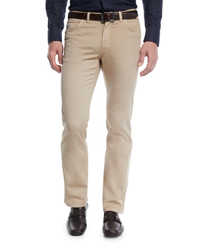 Men's 5-Pocket Twill Pants