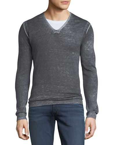 Men's Reverse-Seam Sweater