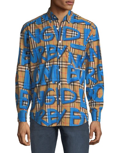 Men's Jameson Graphic Sport Shirt