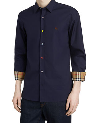 Burberry Men's William Poplin Sport Shirt