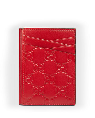 6f6ff938890 Quick Look. Gucci · Men s GG Signature Leather Card Case