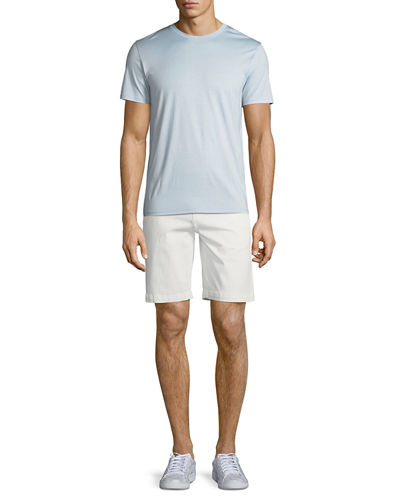 Men's Thompson Cotton Twill Flat-Front Shorts