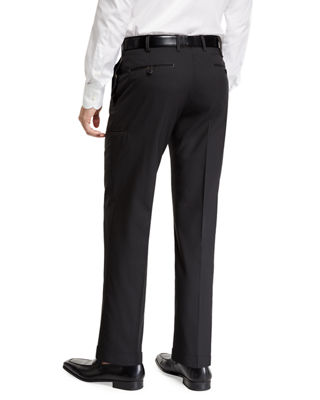 Zanella Men's Flat-Front Travel Trousers