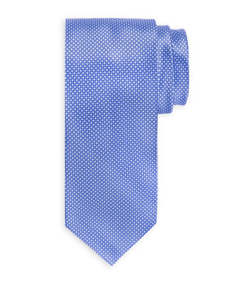 Ties On Sale, Electric Blue, Silk, 2017, one size Stefano Ricci