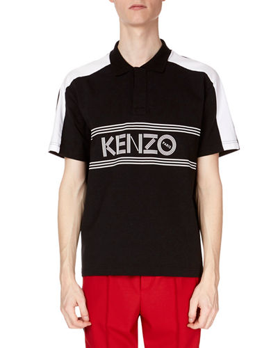 Men's Sport Logo Polo Shirt