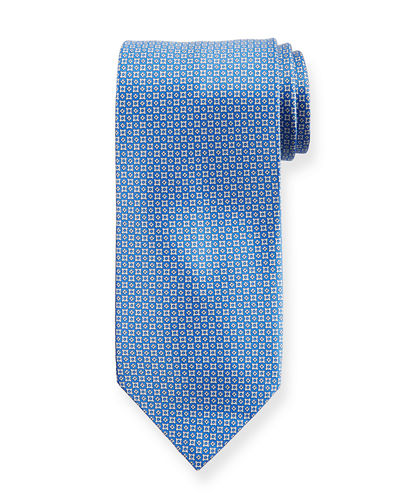 Bottony Cross Silk Tie