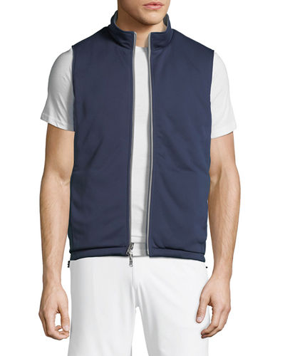 Men's Reversible Quilted Vest