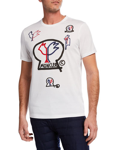 Moncler Men's Moncler Genius Graphic T-Shirt