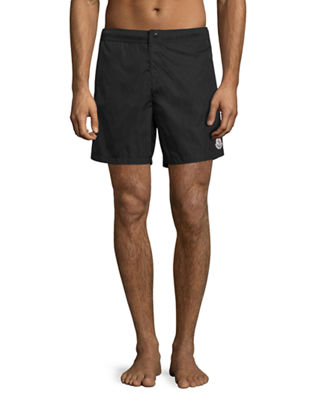 Moncler Men's Swim Trunks with Logo
